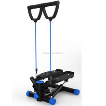 Hydraulic Twist Mini Stepper With Training Resistance Ropes Cords and Digital Workout Computer Mini Fitness Steps S267
