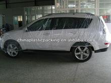 PP Transparent plastic car snow cover