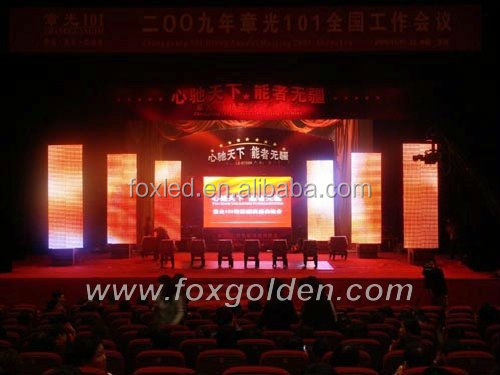 full color video advertising energy saving P7.62 street indoor led display board