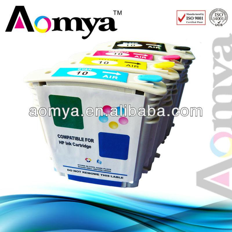Ink cartridge 4840A-4843(H10) 4COLOR for HP Business Inkjet 1700