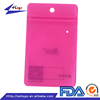 Zipper Top Sealing & Handle and Moisture Proof Cell Phone Case Plastic Packaging Bag /.