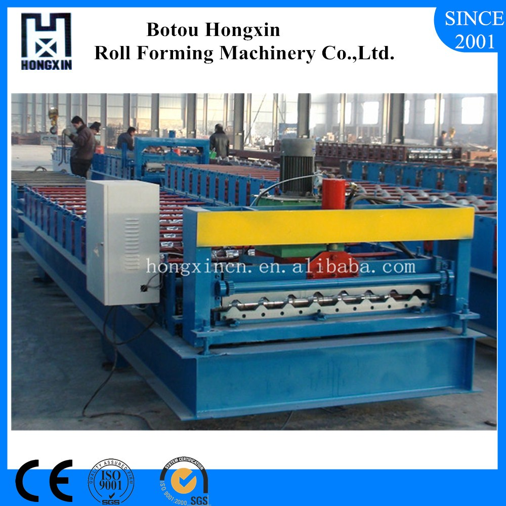 Tile Effect Metal Roof Cladding Roll Forming Machine