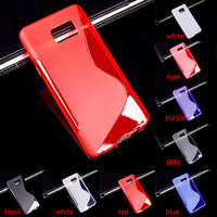S Line TPU Soft Mobile Phone Cover Case For Samsung Galaxy Note 5