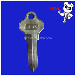 universal door key blank for key cutting machine wholesale