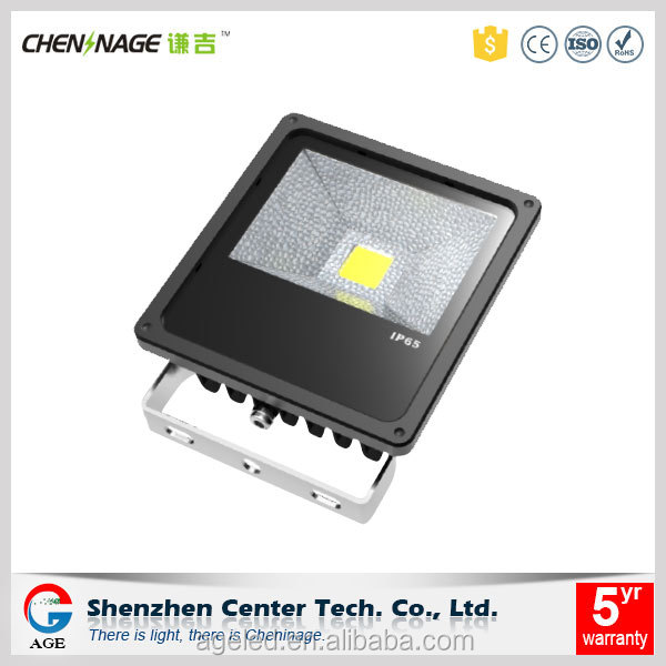 Industrial LED flood light projector with IES file