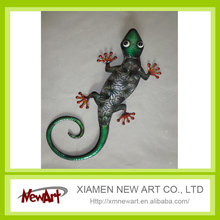 2016 hot metal gecko christmas craft xmas craft for home decoration