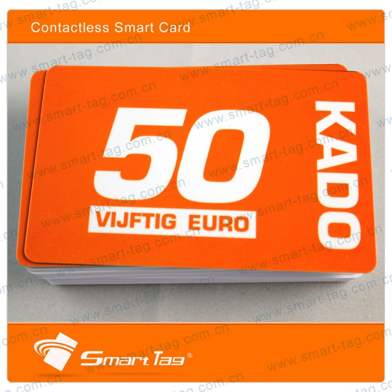 LOW COST LRIS2K contactless smart card
