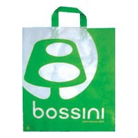 Biodegradable Famous Brand Garment Custom Gravure Printed OEM Plastic Shopper Bag