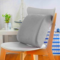Car Back Rest Memory Foam Back Support Cushion