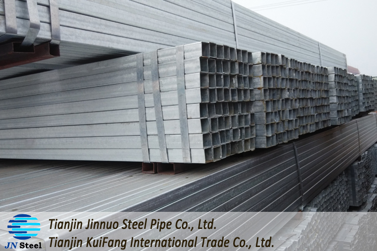 Brand new gi square steel pipe weight per meter with high quality