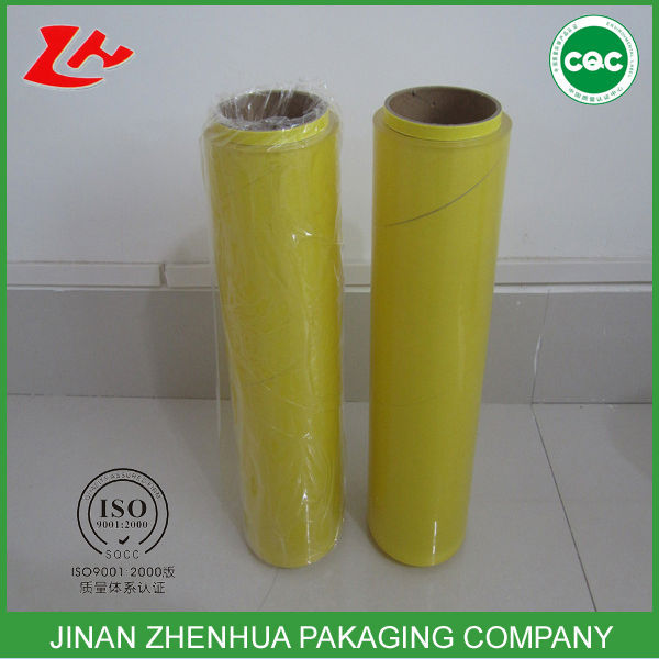 high quality famous gloss pvc cling film wrap food packaging film