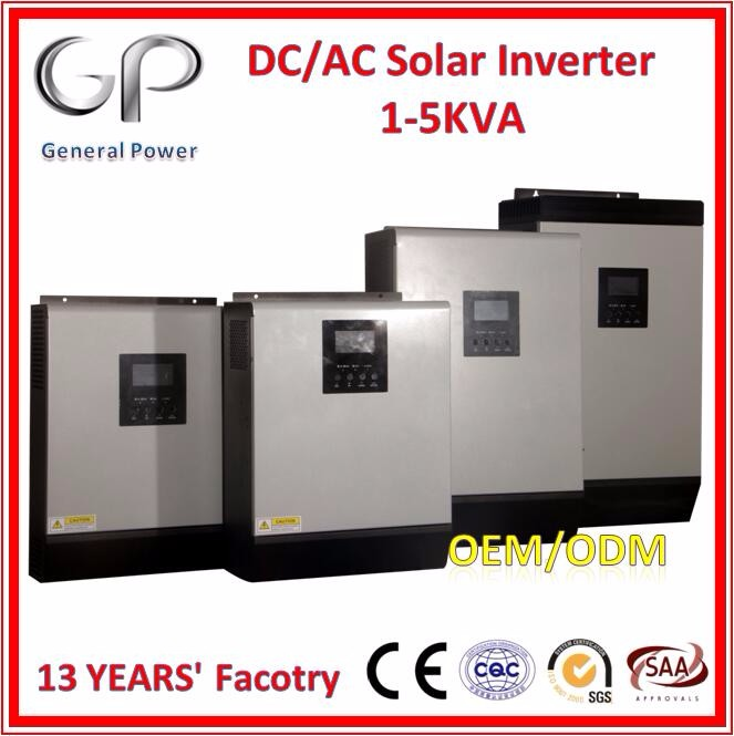 GP 4kw/4kva 48v 60A pure sine wave mppt solar power home inverter