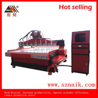 wood carving machine cnc/make wood signs TC-2015-8 with high quality