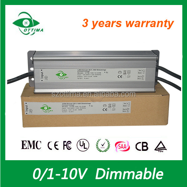 20W 50W 60W 80W 120W 150w constant voltage 12V 24V LED driver waterproof