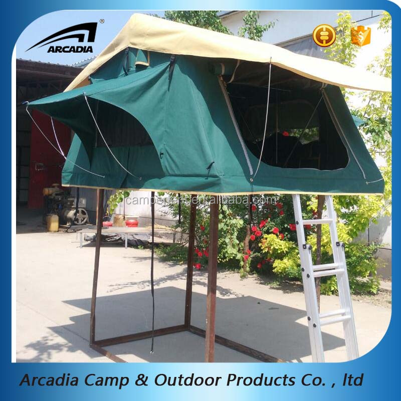 suv car rooftop tent with Car side awning or mosquito net