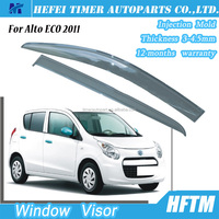 For Alto ECO 2011 Injection mold window film Europe recovery truck window visor