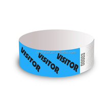 Custom disposable tyvek wristband , rfid tyvek wirstband, id tyvek bracelet