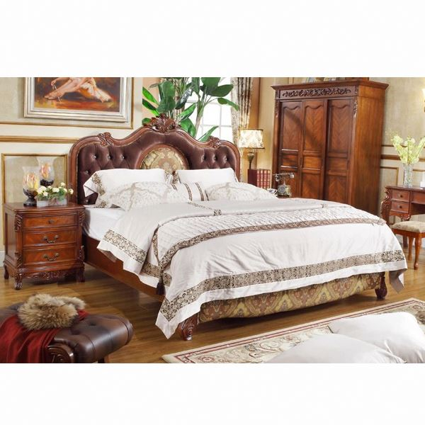 classic teak wood beds models