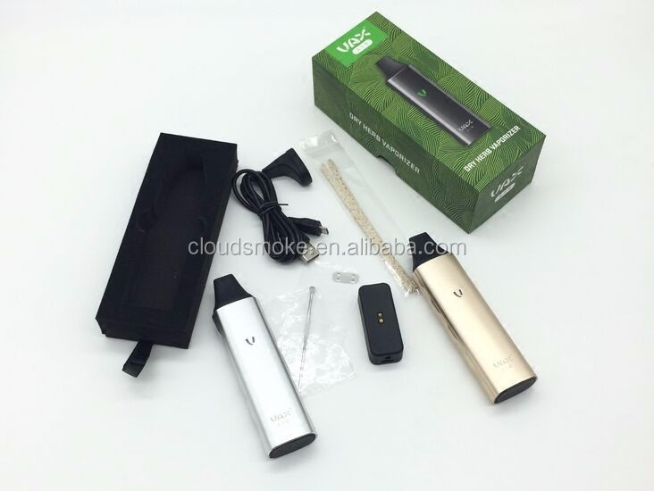 Original high quality Vax air dry herb vaporizer Vax air kit vape pen vax vaporizer