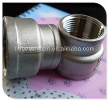 stainless steel threaded concentric reducers