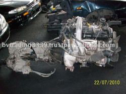 USED JAPANESE ENGINE AND TRANSMISSION