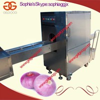 Onion Root/Tail Cutting Machine with Good Price/Onion Processing Plants Machine