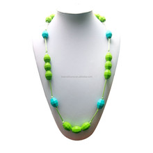 New style silicone products teething necklace pendant supply by factory