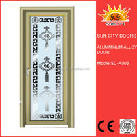 Hot sale aluminum slat door SC-AAD003