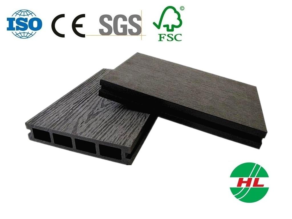 135 x 25 mm bois ext rieur plastique composite plancher en for Plancher exterieur plastique