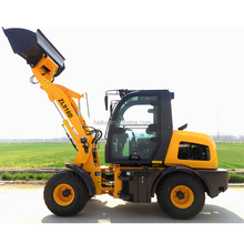4 wheel drive multifunction tractor small loader