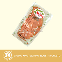 plastic meat vacuum pouch for cooked meat