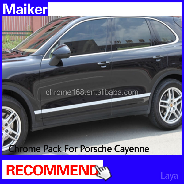 Auto Accessories Chrome Pack forPorsche Cayenne from Maiker