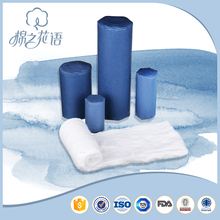 Waxing 100 cotton roll,plastic super union cotton roll
