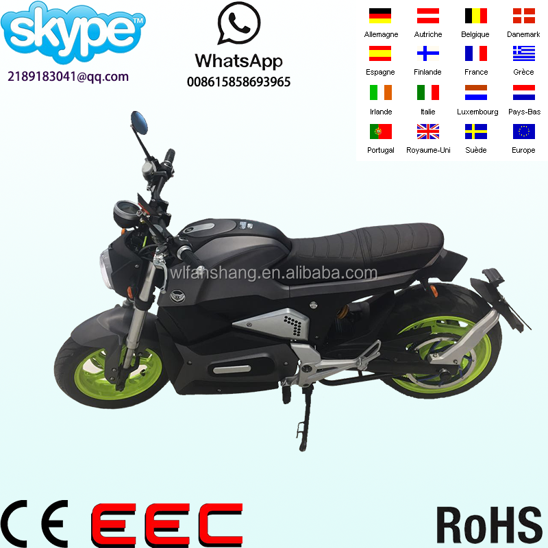 Hot sale Electric motorcycle 3000W LR motor 72v