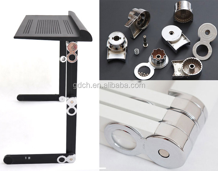 High quality multifunctional portable laptop table, folding adjustable laptop table