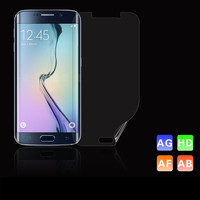 Super guard lcd screen protector for Samsung galaxy s6 edge oem/odm (Anti-Fingerprint)