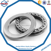 china supplier steel cage Axial load Flat thrust ball bearing 51309
