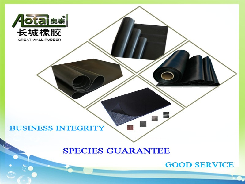 Own Design Factory Customized Special Industrial Fire Resistance Rubber