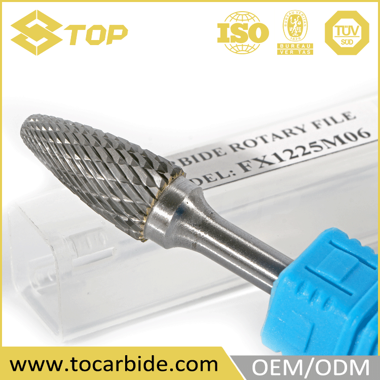 OEM supplied dremel rotary tool, carbide rotary burrs blank, carbide burrs blank