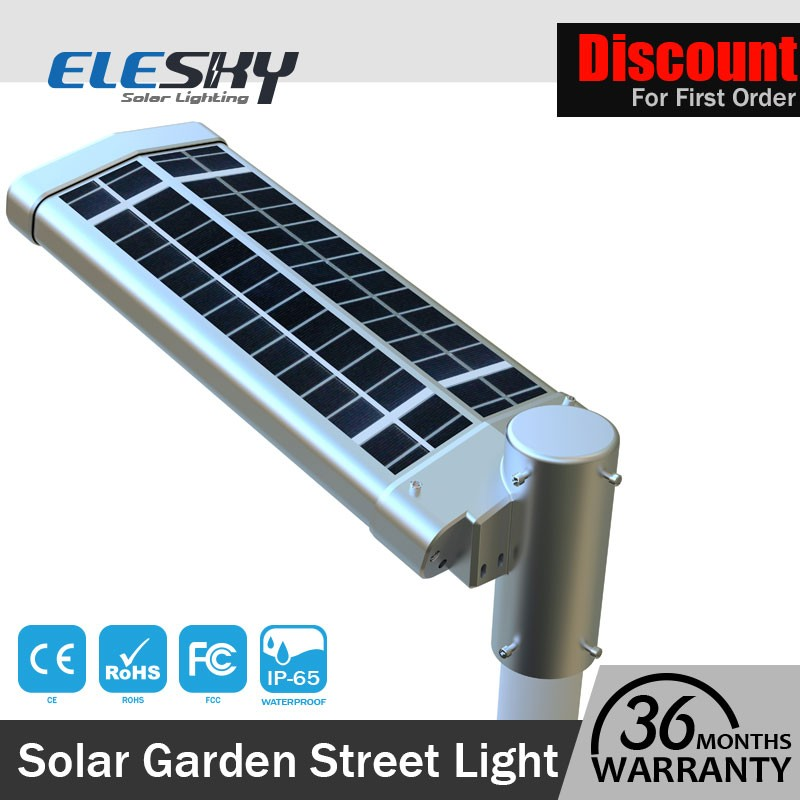 New arrival lithium battery energy led street luz solar