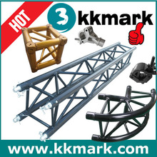 ROUNDED 2 WAY 90 DEGREE CORNE Aluminum Truss, 12'' Stage Truss
