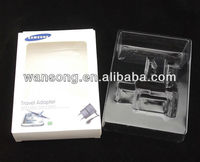 Luxury Cosmetic Paper Box Packaging With plastic inner tray