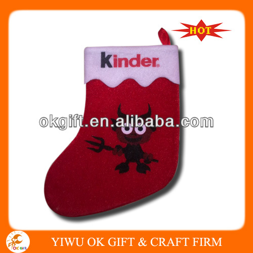 Super hot christmas stocking for promotion,amazing quality