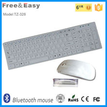 Wireless computer parts keyboard and mouse combo