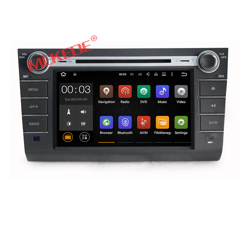 2G RAM Android 6.0 Car DVD Player for Suzuki Swift 2004 -2010 GPS Navigation Radio stereo