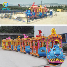 Amusement Park Equipment Adult Rides Train Set