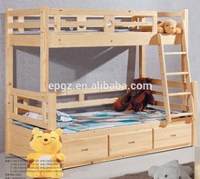 High Quality Modern Used Kids Beds for Sale, Wood Double Bed Designs, Kid's Bunk Bed