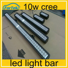 wholesale 10w cree offroad led light bar 10-30v DC IP 68 waterproof