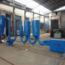 airflow pipe dryer for rice hull, milled wheat straw, milled cotton/ corn stalks