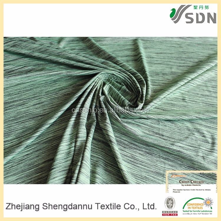 2016 Newest Design material fabrics woven textile for clothing sports fabric